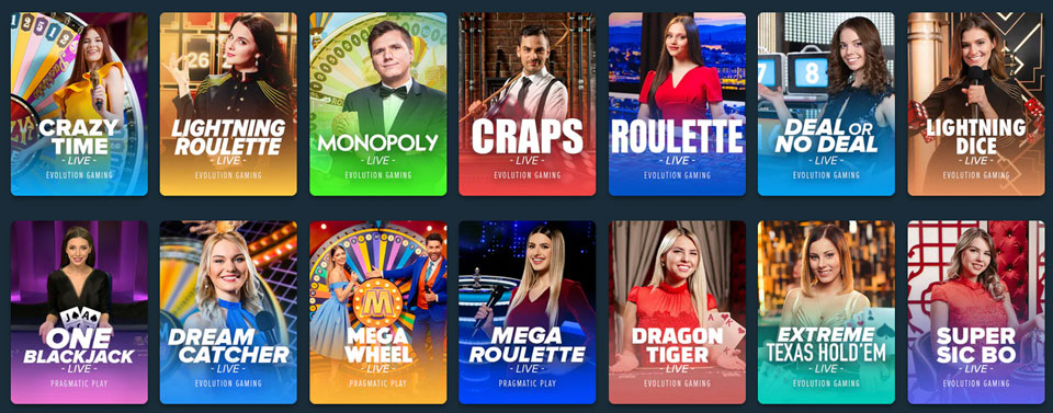 Stake Live Casino
